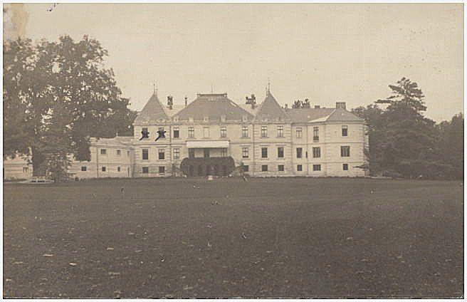 Pałac Lanckorońskich w Rozdole.
