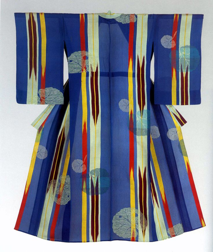 Woman's kimono, 1920s-30's, from the Montgomery Collection of Japanese Folk Art via RICHARD NATHANSON