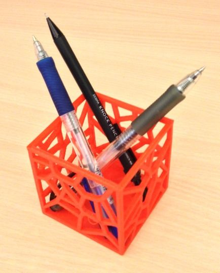 How to Use TinkerCAD to Make a Pen Holder 3d printing