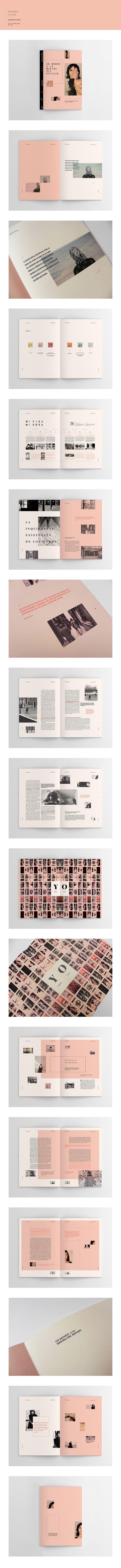 Sophie Calle   Hacedores de Mundo – design by Yamila Troilo
