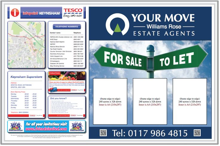 Add a new property every day and see your sales soar with Tesco advertising