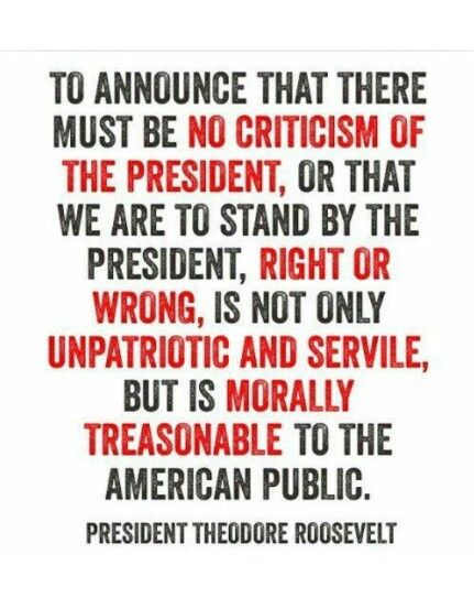 A quote from Theodore Roosevelt