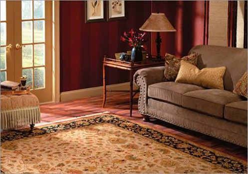 An #OrientalRug is a handmade carpet that is either knotted with pile or woven without pile.