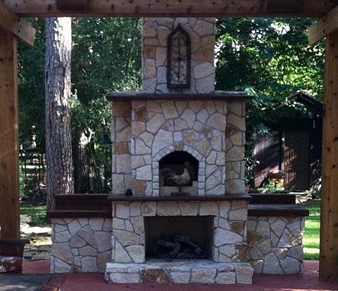 37 best outdoor fireplace pizza oven images on pinterest Pre fab outdoor fireplace