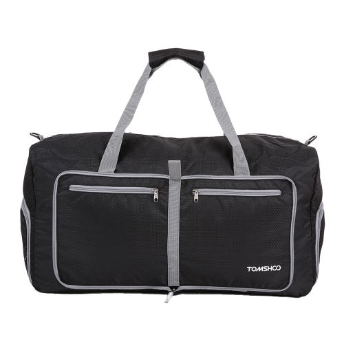 21.86$  Know more - http://aibjc.worlditems.win/all/product.php?id=Y3048B - TOMSHOO 80L Foldable Packable Duffle Bag Large Travel Luggage Shopping Gym Storage Bag Water-resistant