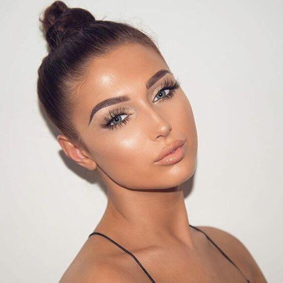 bronze makeup 3