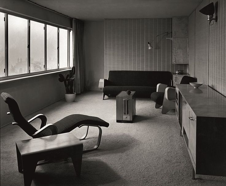 Marcel Breuer Interior Design For The Dorothea Ventris Apartment Highpoint In Highgate London
