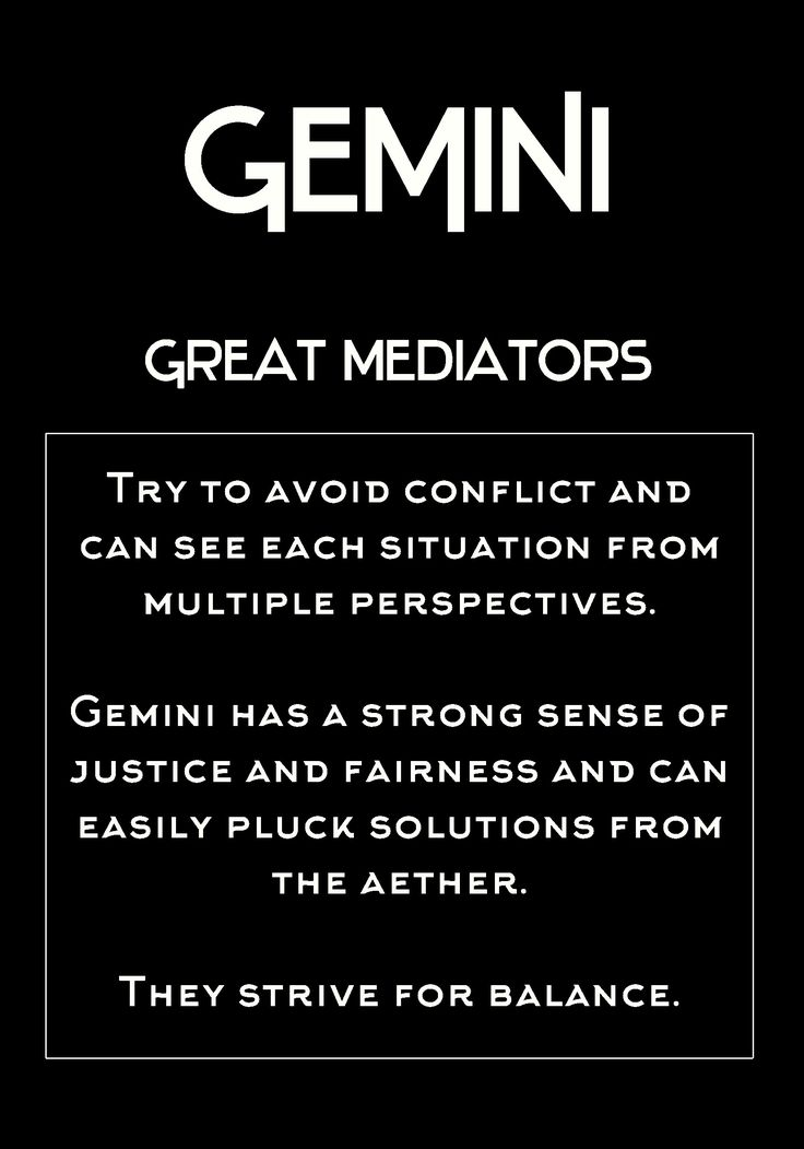 #Gemini Balance is hard enough without external conflict. Personality Horoscope
