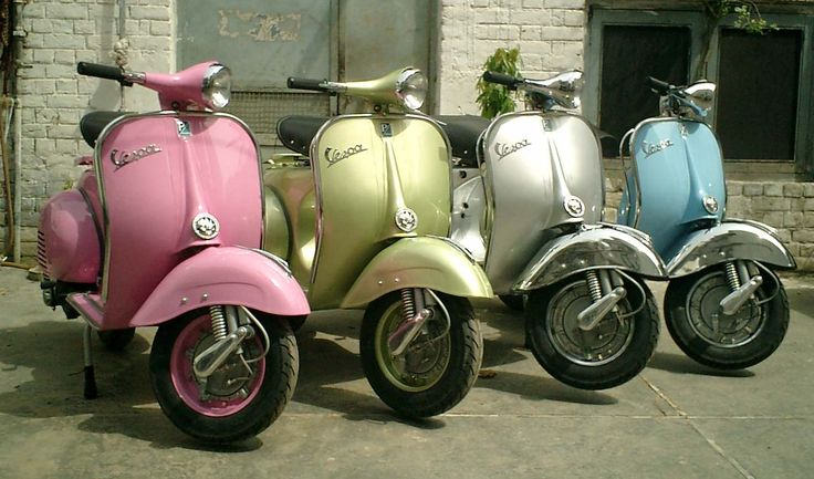 One of each | Classicscooters