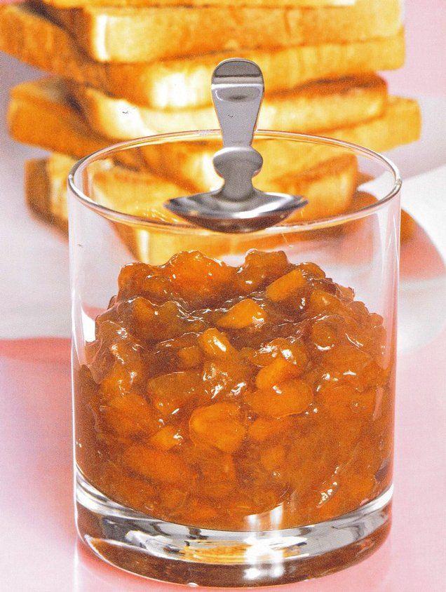 Originale, la nectarine se marie très bien à la saveur corsée du café ! Confiture de nectarines au café