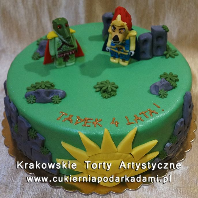 121. Tort z Lego Chima. Lego Chima cake.
