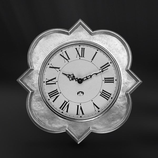 Pewter Wall Clock - Width: 32 cm (12,6″) - Height: 32 cm (12,6″) - #pewter #wall #clock #peltro #orologio #parete #zinn #wanduhr #wand #uhr #étain #etain #horloge #murale #peltre #tinn #олово #оловянный #gifts #giftware #home #housewares #homewares #decor #design #bottega #peltro #GT #italian #handmade #made #italy #artisans #craftsmanship #craftsman #primitive #vintage #antique