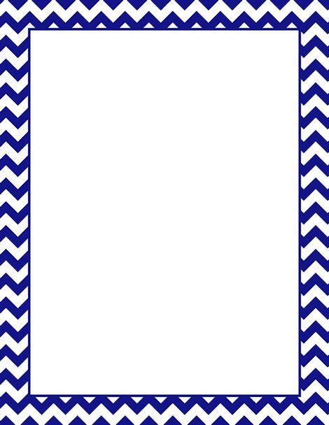 Printable navy chevron border. Free GIF, JPG, PDF, and PNG ...