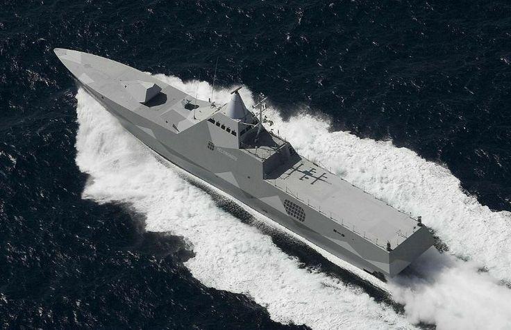 Sweden: Visby class corvette