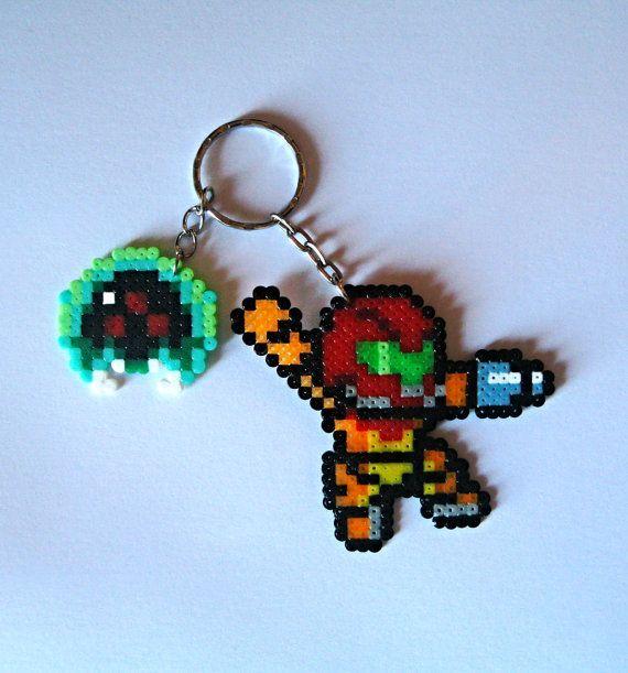 Metroid Keychain