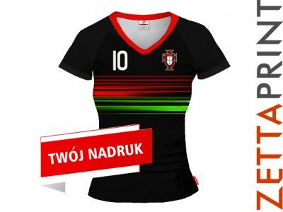 PORTUGALIA Damska Koszulka T-Shirt ZTT_DS1828