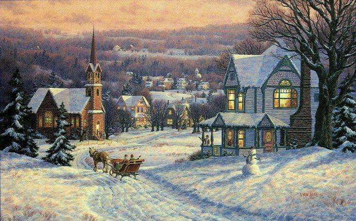WINTER MEMORIES BY RANDY VAN BEEK ART RANDY VAN BEEK