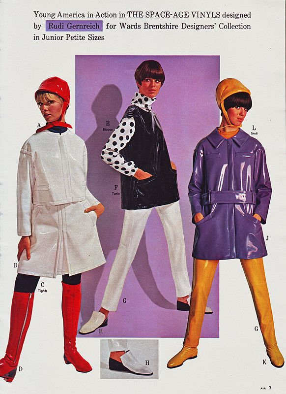 Wards 66 ss vinyl outfits | by jsbuttons