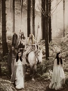 Lord Of The Rings...the Elves taking leave of Rivendell