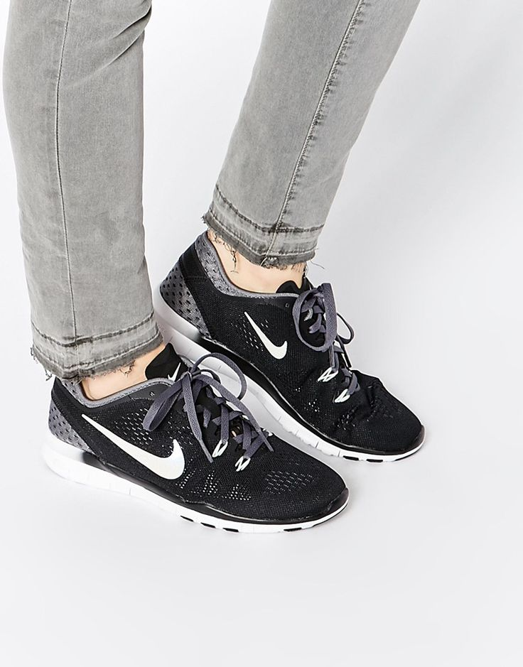 Nike Free 5.0 TR Fit 5 Breathe Black & Grey Trainers