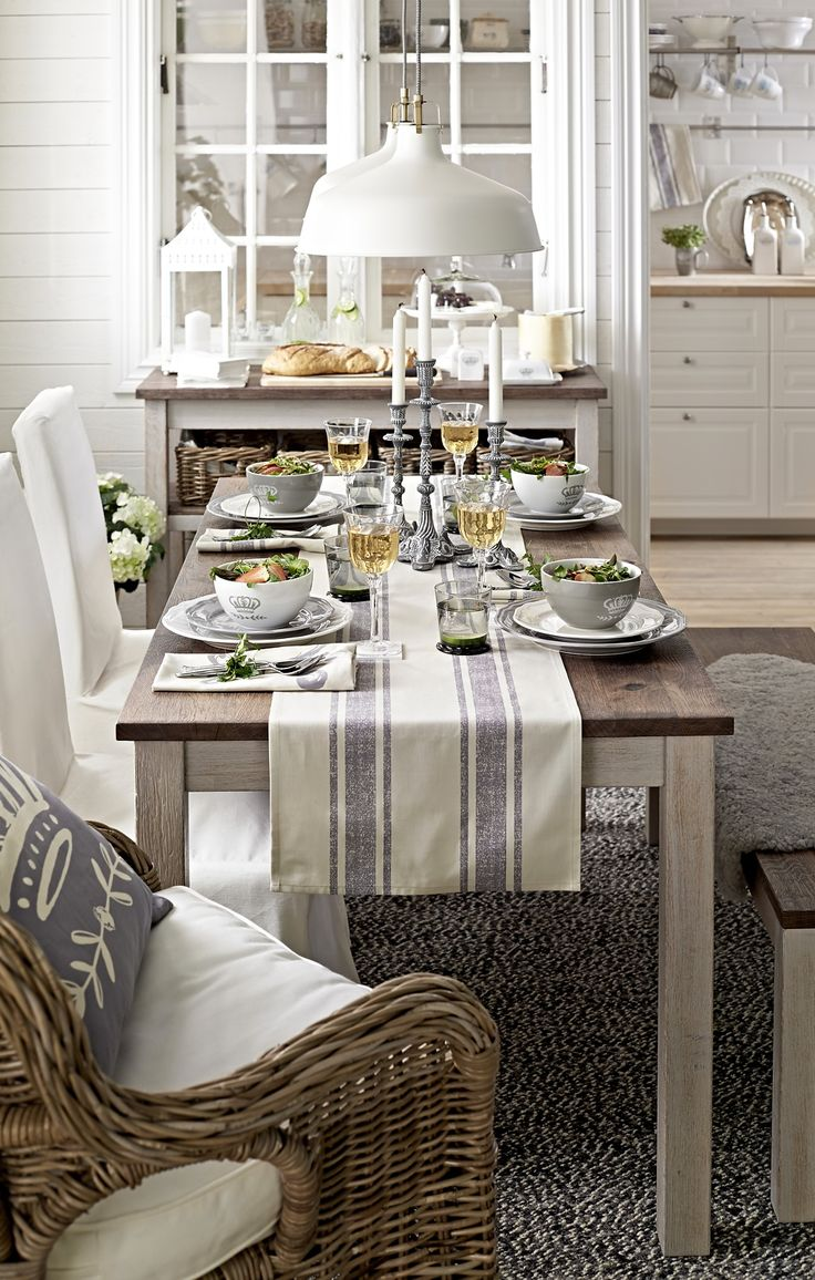 Dining Room Settings 1000 Ideas About Casual Table Settings On Pinterest Buffet