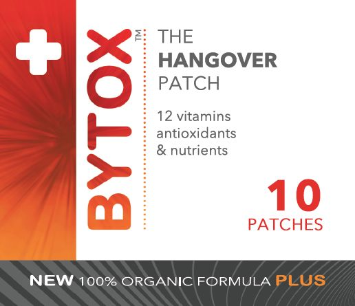 Bytox hangover patch 10 Pack