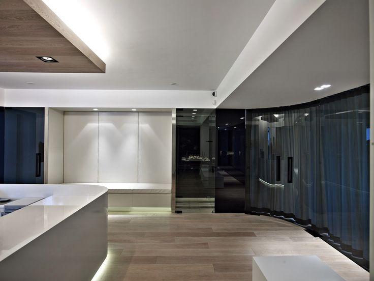 OFFICE SPACES FOR A MARITIME COMPANY #Light #Design #Architecture #Interiordesign #Piraeus #Athens #Greece #Kipseliarchitects