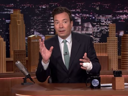 Fallon shares details on serious hand injury - USA TODAY #JimmyFallon, #Injury, #Entertainment