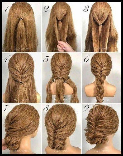 50+ Fast and Simple Step by Step Hair Tutorials for Lengthy, Medium,Quick Hair #straightforward…