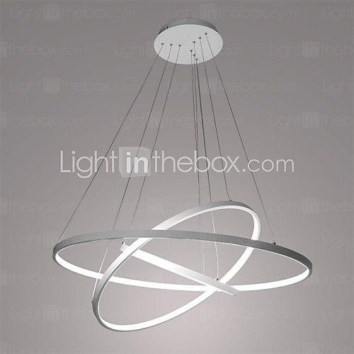 90W Lámparas Colgantes ,  Moderno / Contemporáneo Pintura Característica for LED MetalSala de estar / Comedor / Habitación de - EUR €196.19