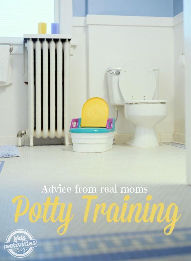 {Real Mom Solutions} Potty Training Tips & Tricks - Kids Activities Blog