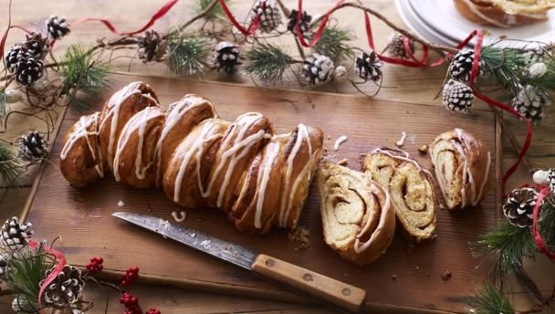 A sweet cinnamon butter filling makes this simple bread really special – and it's much easier to shape than you might expect.