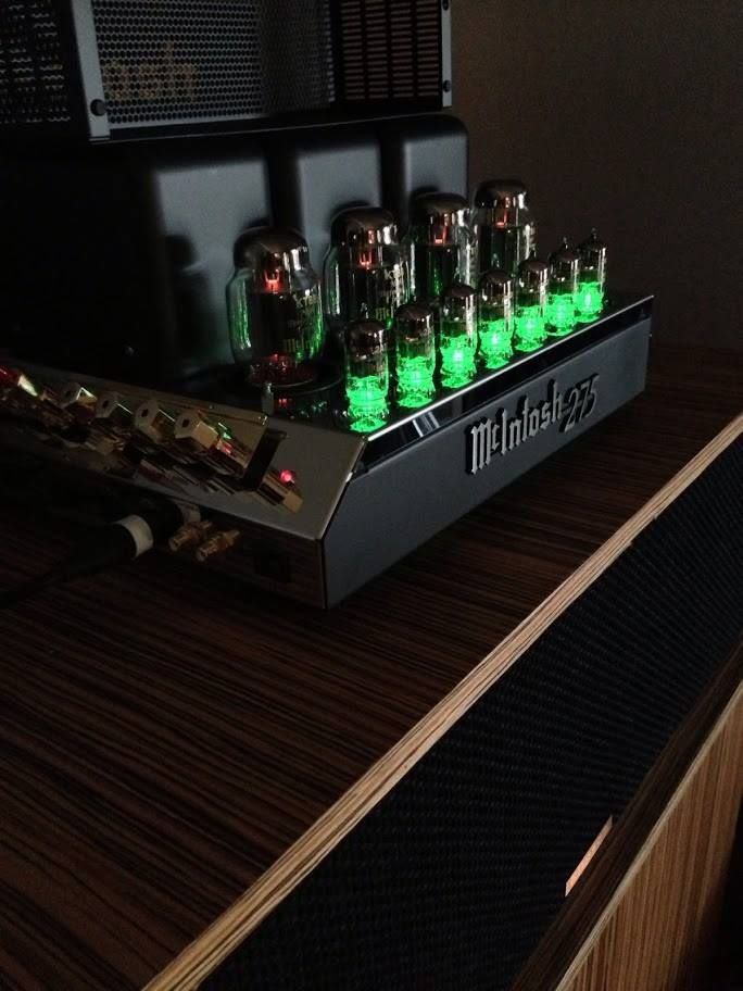 Mcintosh Mc275 Tube Amplifier Available At The Platinum