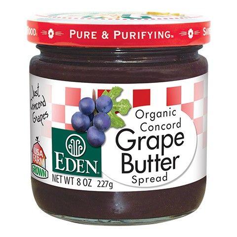 Eden Foods Grape Butter, Organic