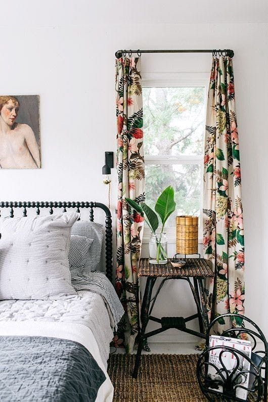 8 Times Vintage Textiles Completely Made the Room | Pinterest: Natalia Escaño