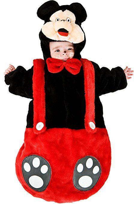 COSTUME di CARNEVALE da SACCOTTINO TOPINO vestito per neonato bambino 0-3 Mesi travestimento veneziano halloween cosplay festa party 88378 Taglia 0-3