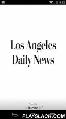 LA Daily News  Android App - playslack.com , The Los Angeles Daily News news app offers the latest breaking news, local news, L.A. weather forecasts, traffic, events and daily reports on the San Fernando Valley community. This free app also features news on L.A. sports teams the Lakers, Dodgers, Clippers, USC, UCLA and more. Designed especially for mobile devices, the Los Angeles Daily News news app offers amazing clarity and convenience with a variety of improved features, including:• Bold…