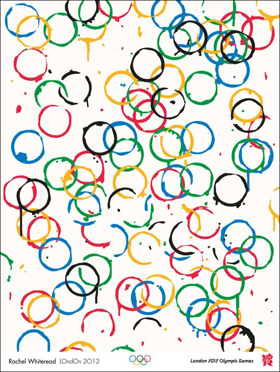 A host of British artists, including Bridget Riley, Tracey Emin, Martin Creed, Rachel Whiteread, and Bob and Roberta Smith, have designed posters to celebrate the London 2012 Olympic and Paralympic Games.
