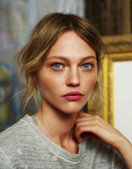 lip color: Natural Makeup, Make Up, Inspiration, Faces, Style, Sasha Pivovarova, Beauty, Hair