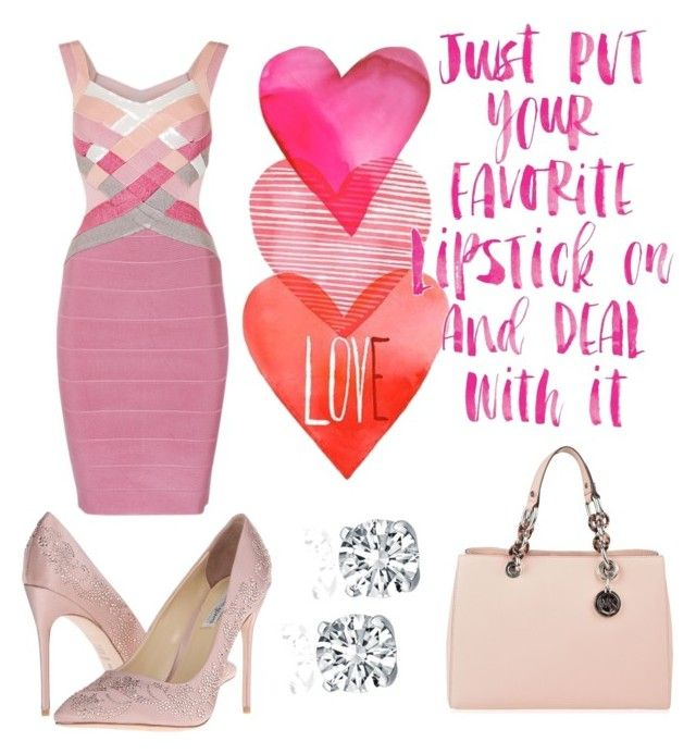 """Elle Woods Style"" by simone-kelly-coad-lutwyche ❤ liked on Polyvore featuring Benjamin Adams and MICHAEL Michael Kors"