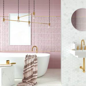 tendencia en baño 2017, tonos pastel,colección crayon de aparici