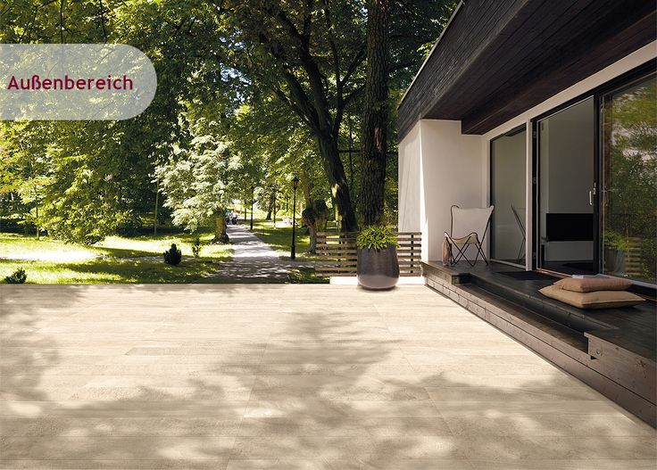44 besten terrasse mit fliesen bilder auf pinterest garten terrasse moderner garten und. Black Bedroom Furniture Sets. Home Design Ideas