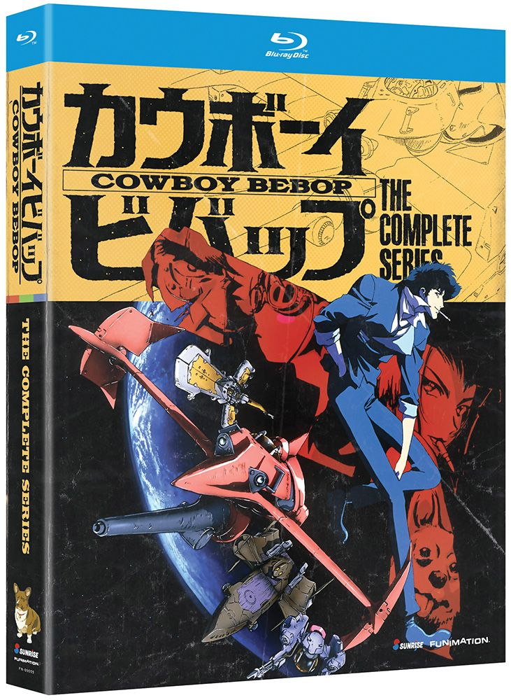 Cowboy Bebop Blu-ray Complete Series (Hyb); Might be nice to upgrade to Blu-ray someday.