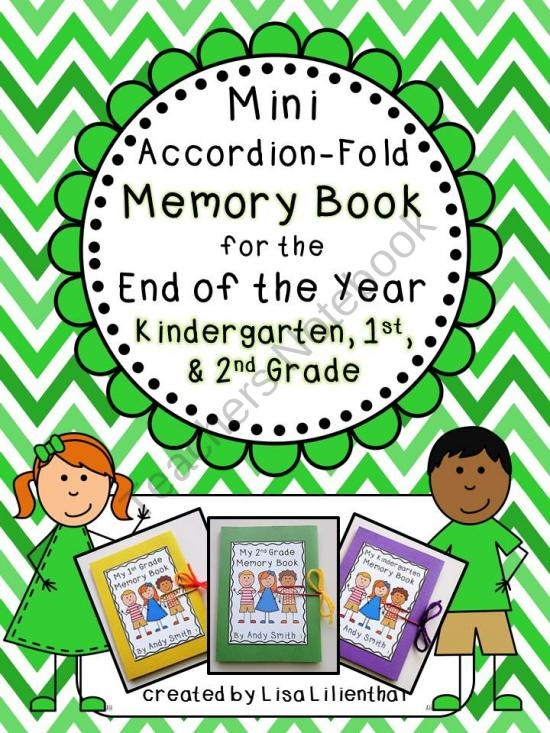 End of Year Mini-Memory Book for Primary Grades from Lisa ...