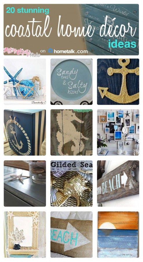 All Things Coastal {Hometalk Curated Board} - artsychicksrule.com #coastal #summer