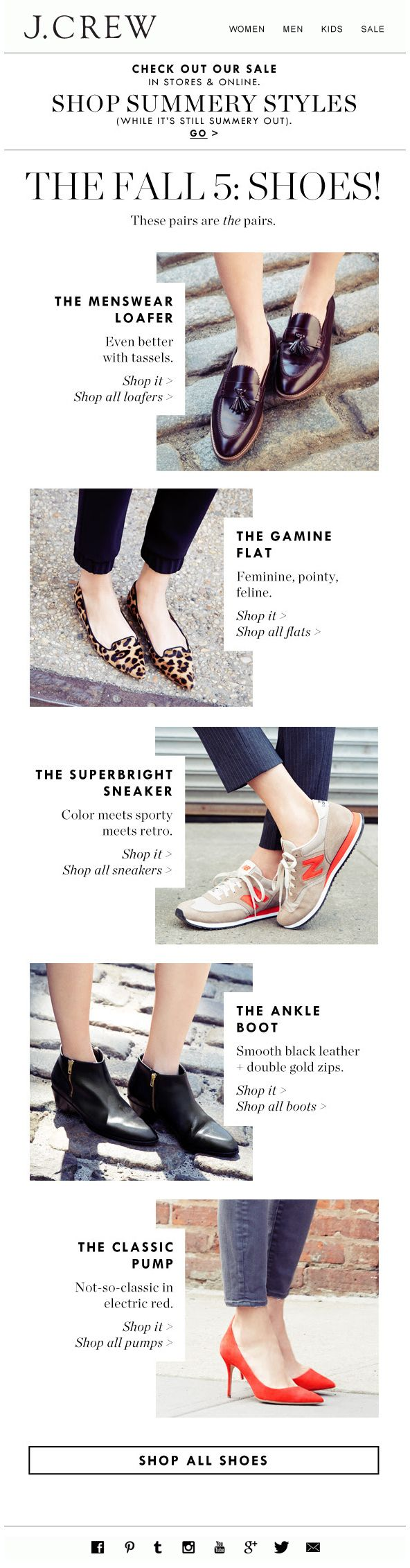 J.CREW : Top Products #shoes edm