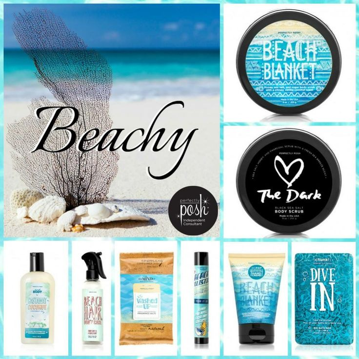 Get beach ready with Perfectly Posh. Naturally based. Only the best ingredients. Made in USA! https://poshingwithlindsey.po.sh