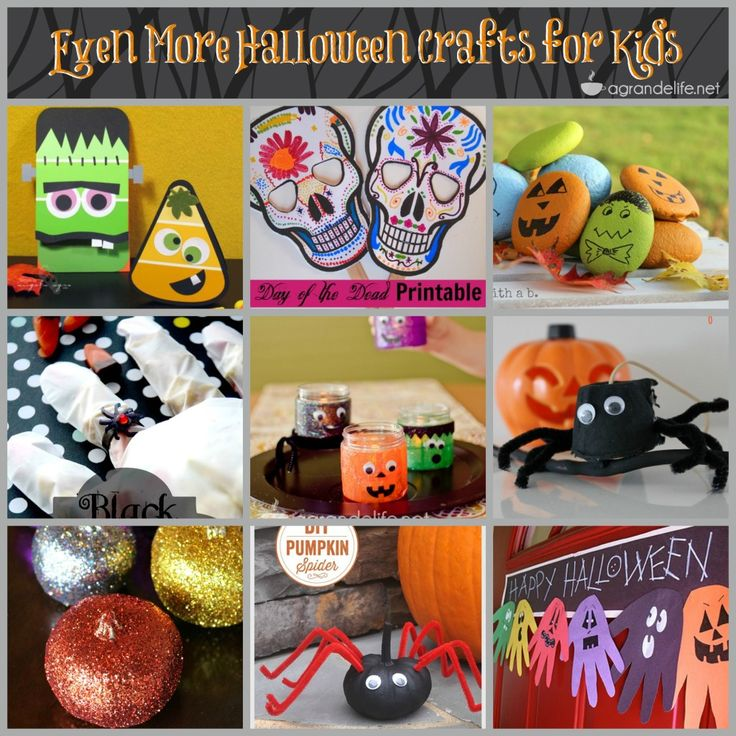 248 best Crafts images on Pinterest Crafts, Infant crafts and - homemade halloween decorations kids
