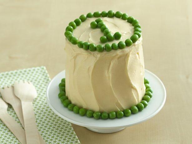Peas And Carrot Smash Cake