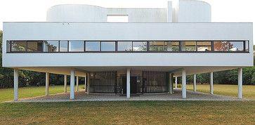 @Emmanuel N Garcia always in my mind Villa Savoye a master piece by Le Corbusier #architecture